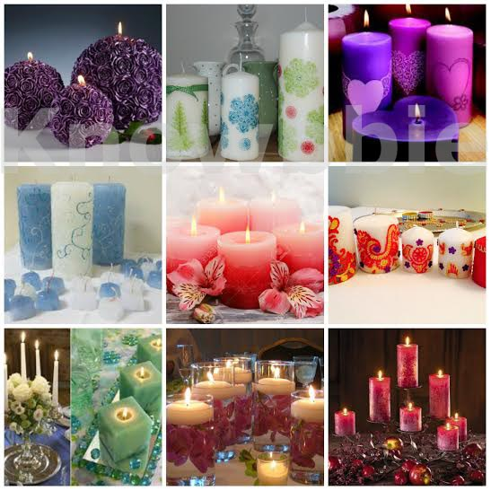 Learn To Make Designer Candles