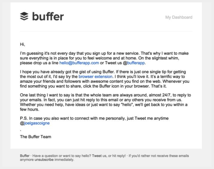 5 Emails the Best Apps Send to Their Users