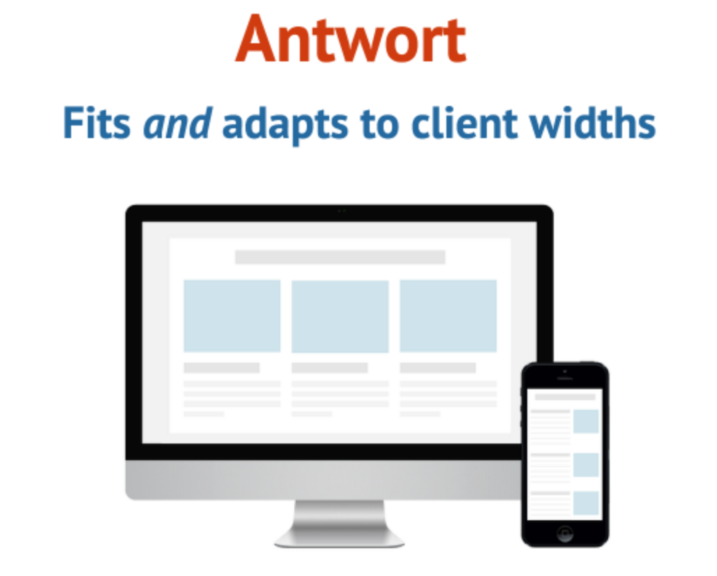 4 antwort antwort offers responsive layouts for email - Free Responsive Email Templates
