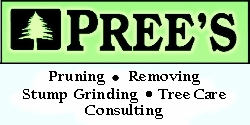 Website for Prees Tree Specialist, Inc.