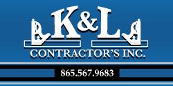 Website for K & L Contractors, Inc.