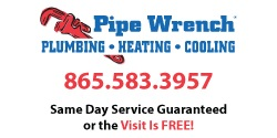 Website for Pipe Wrench Plumbing, Heating & Cooling, Inc.