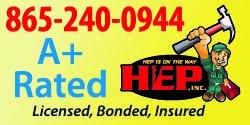 Website for HEP, Inc.