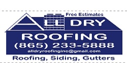 Website for All Dry Roofing, Inc.