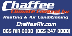 Website for Chaffee Climate Control, Inc.