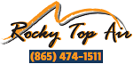 Website for Rocky Top Air, Inc.