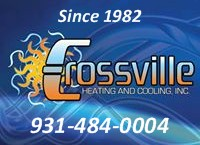 Website for Crossville Heating and Cooling