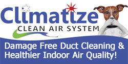 Website for Climatize Heating & Cooling, LLC