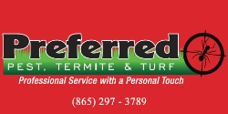 Website for Preferred Pest, Termite &  Turf