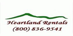 Website for Heartland Rental, LLC