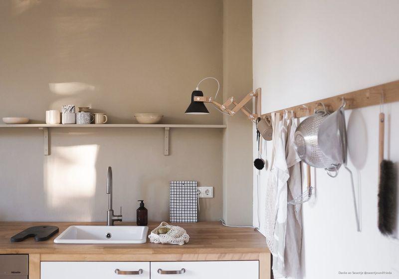 Farbfreude: Swantjes Küche in Beige - Kolorat