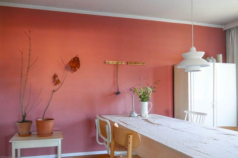 Wandfarben in bordeaux weinrot kolorat - Wandfarbe bordeaux ...