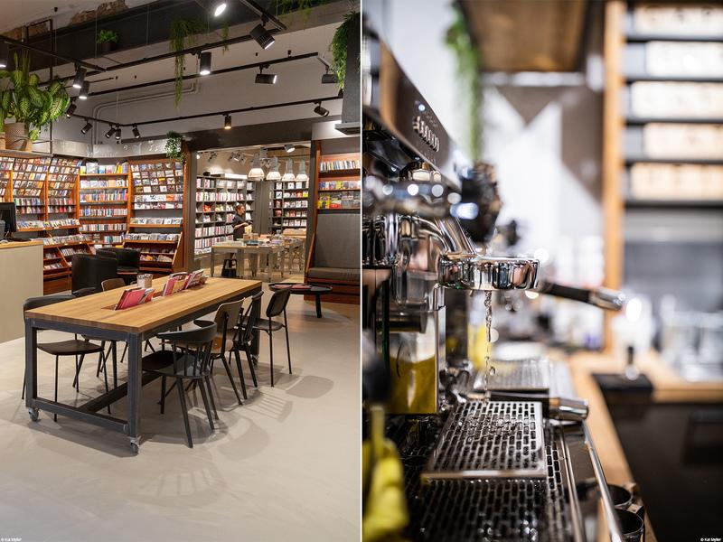 Neue Ladengestaltung: Der Salon Buchhandlung Reuffel in Koblenz.