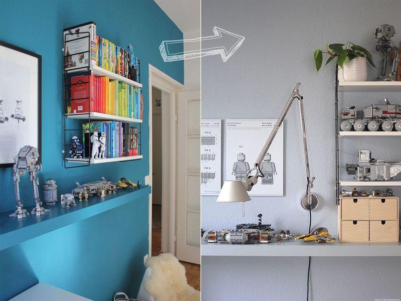 Wand erst Weiß streichen, dann farbig? - Kolorat