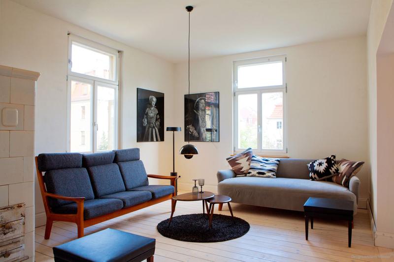 Wohnzimmer: Wandfarbe Vanille - Kolorat