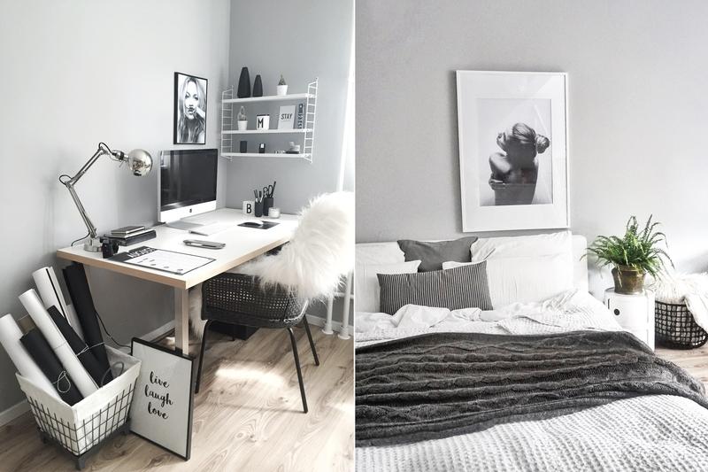 farbfreude skandinavischer flair bei melike kolorat. Black Bedroom Furniture Sets. Home Design Ideas