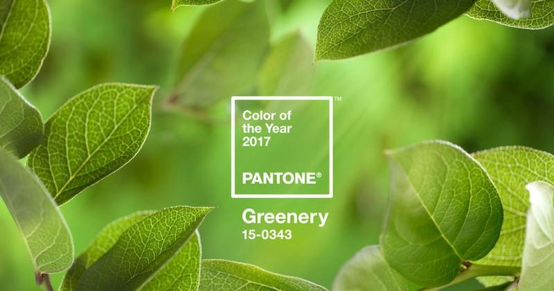 farbe des jahres 2017 pantone greenery kolorat. Black Bedroom Furniture Sets. Home Design Ideas
