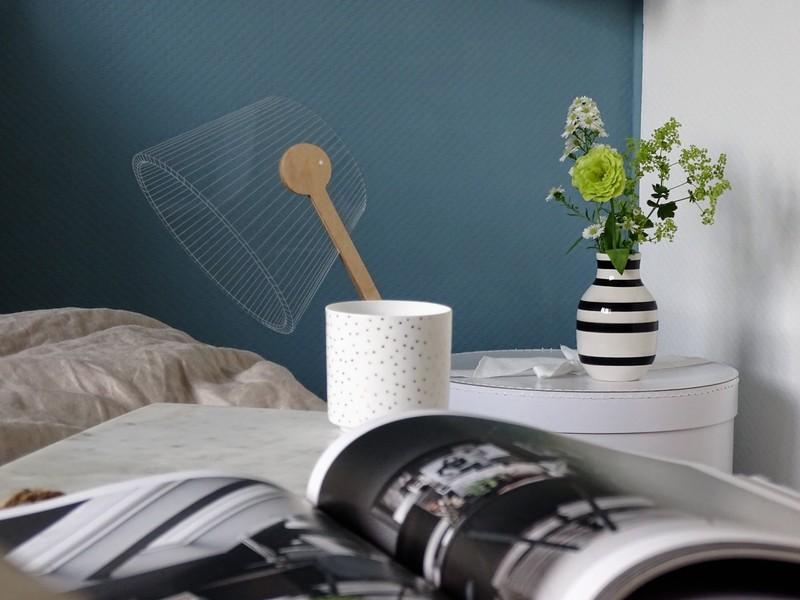 Farbfreude: Julias Schlafzimmer in Blau - Kolorat