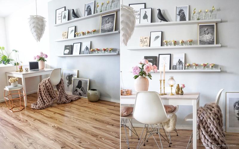 Bilderleiste Holz diy ikea bilderleiste mosslanda lackieren kolorat
