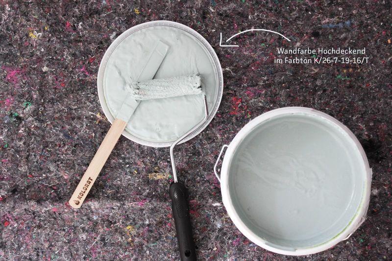 Wandfarbe Salbei online bestellen bei Kolorat.