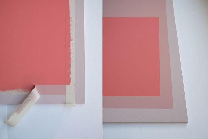 Wandgestaltung. Ein Bild in deiner Wunschfarbe.