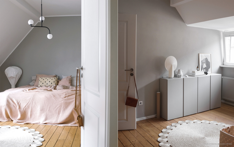 Wandfarbe Graubraun Im Schlafzimmer