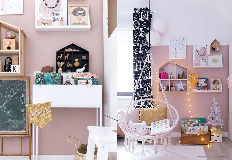 Farbfreude: Kinderzimmer in Altrosa - Kolorat