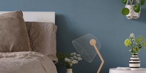 Kolorat wandfarbe blau schlafzimmer