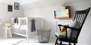 KINDERZIMMER: GRÜN U0026 GRAU ALS WANDFARBE. Wandgestaltung Im Kinderzimmer.