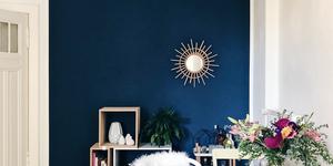Kolorat wandfarbe petrolblau wohnzimmer 3