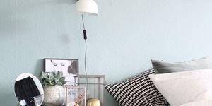 Kolorat wandfarbe pastellgruen schlafzimmer