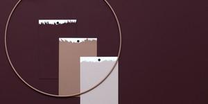 Kolorat wandfarben farbkarten farbmuster handgestrichen online bestellen farbmusterkarten bordeaux rot naturt%c3%b6ne rosa
