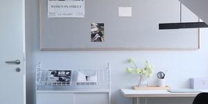Kolorat wandfarbe arbeitszimmer hellgrau grau