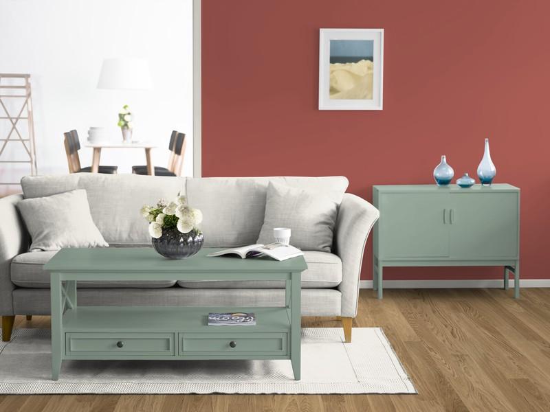 wohnzimmergestaltung farbe ideen kreative deko ideen und