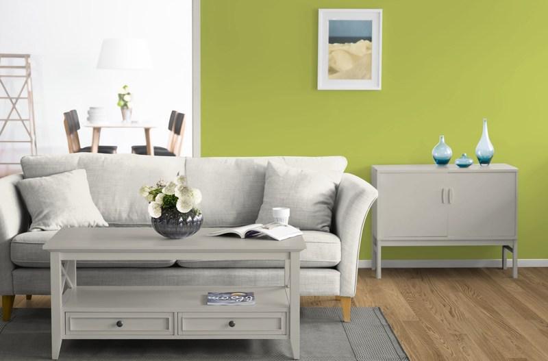 Wandfarbe Grün Kolorat