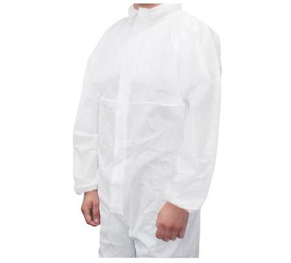 Kolorat profi schutzanzug mit kaputze