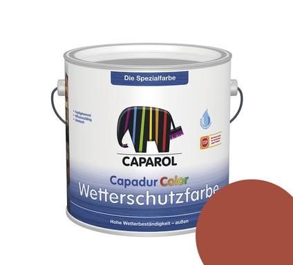 Kolorat wetterschutzfarbe schwedenrot 2