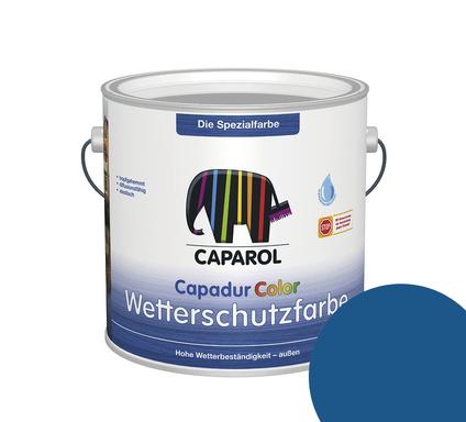 Kolorat wetterschutzfarbe schwedenblau 1