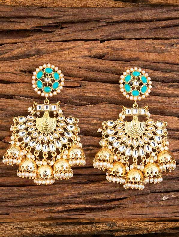 IndoWestern Trendy Gold Plating Earring