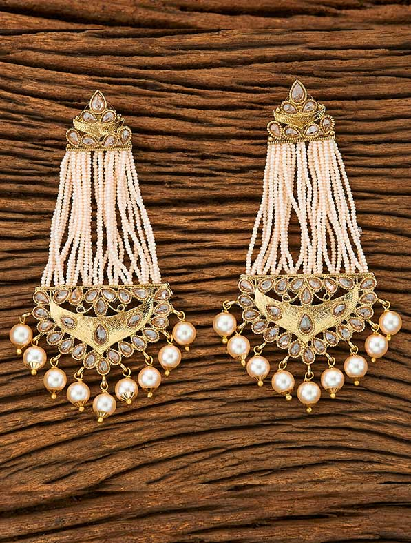 IndoWestern Mehendi Plated Trendy Earring