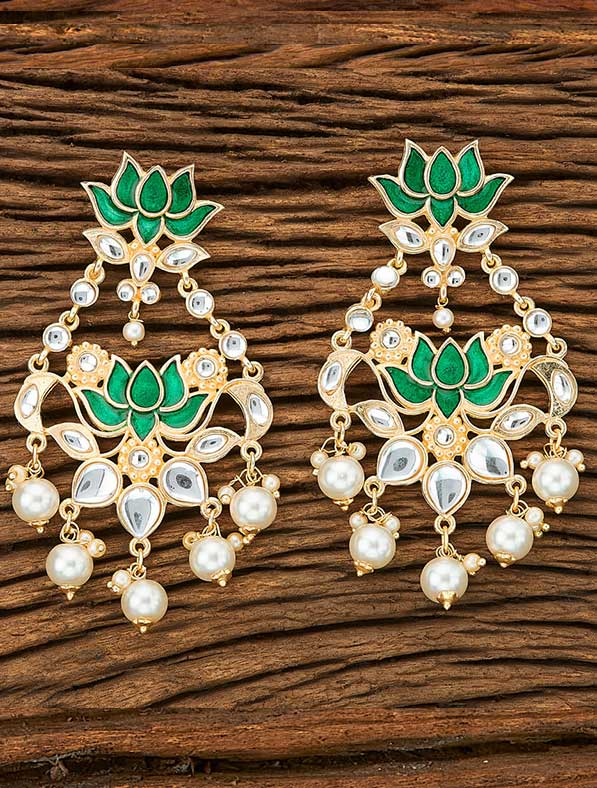 IndoWestern Trendy Earring With Gold Plating