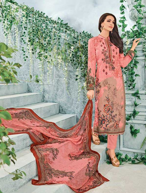 Lawn Cotton Printed Salwar Kameez
