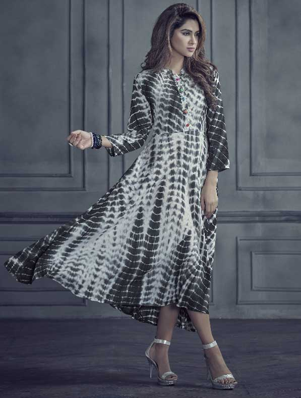 Rayon Fancy Designer Kurti
