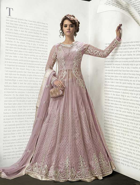 Fancy Designer Anarkali Lehenga