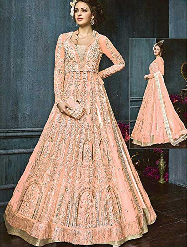 Heavy Embroidered Designer Anarkali Suit