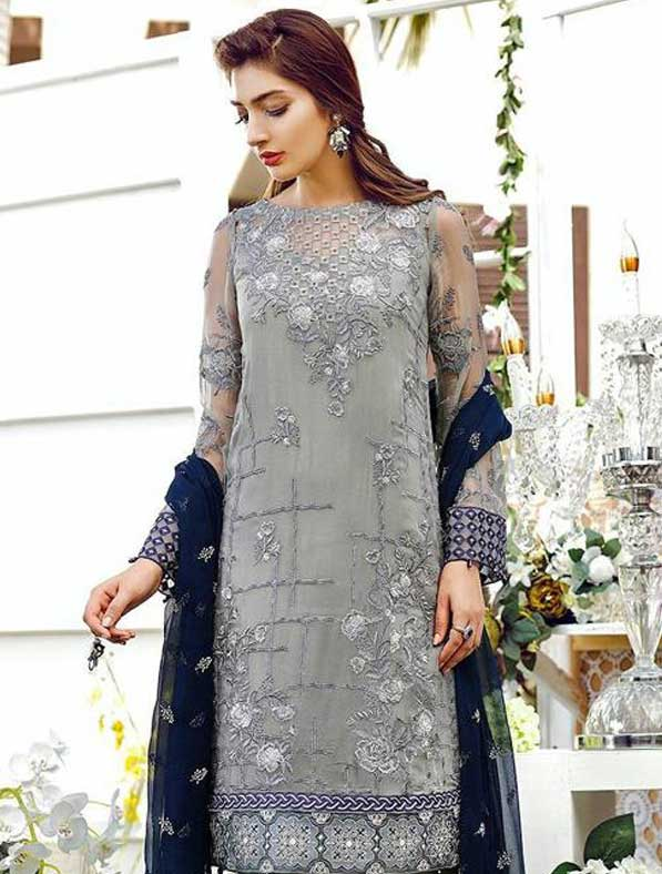 Georgette Embroidery Designer Suit
