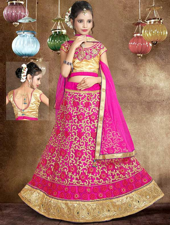 Kids Ethnic Party Wear Lehenga