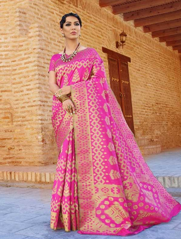 Kalikkat Silk Traditional Fancy Saree