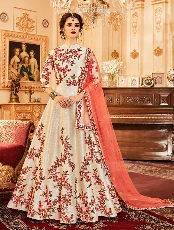Wedding Affaire Heavy Work Anarkali Suit