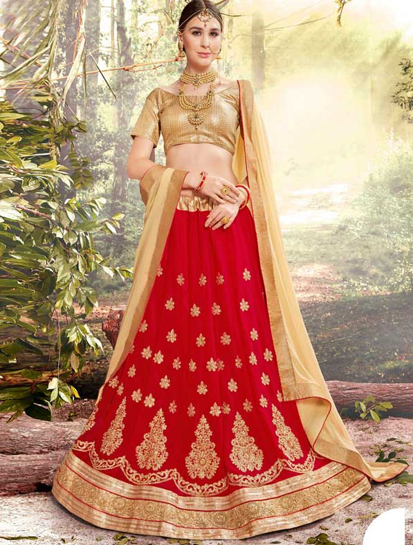 Royal Georgette Designer Lehenga Choli